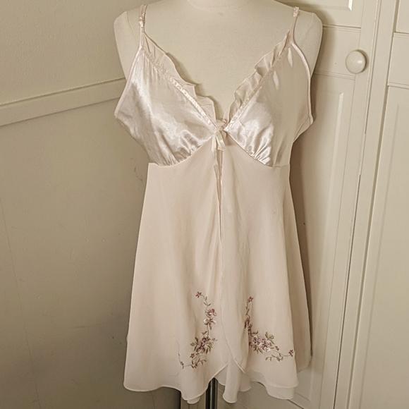 Chemise California Dynasty Small Pink Slip Dress